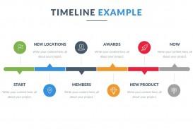005 Singular Timeline Format For Presentation High Definition  Template Presentationgo Example