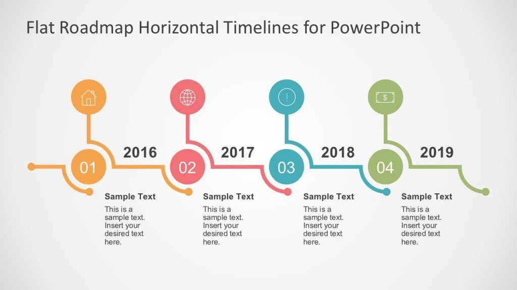 005 Singular Timeline Sample For Ppt Picture  Powerpoint Template 2010 ExampleLarge