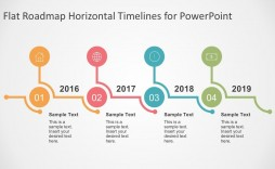 005 Singular Timeline Sample For Ppt Picture  Powerpoint Template 2010 Example
