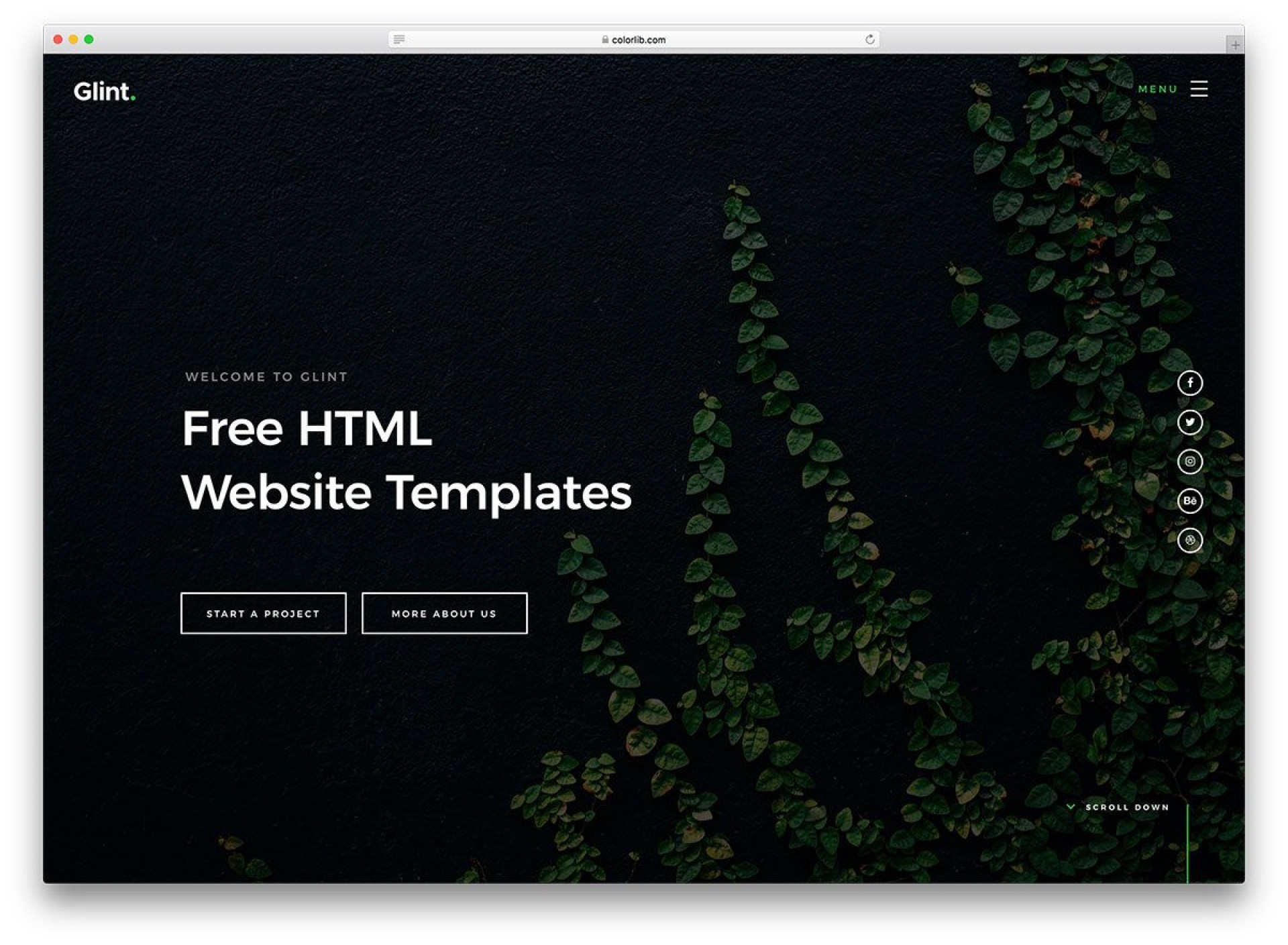 005 Singular Web Template Download Html Example  Html5 Website Free For Busines And Cs Simple With Bootstrap Responsive1920