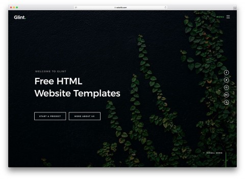 005 Singular Web Template Download Html Example  Html5 Website Free For Busines And Cs Simple With Bootstrap Responsive480
