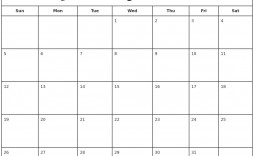 005 Staggering Calendar 2020 Template Word High Definition  Monthly Doc Free Download