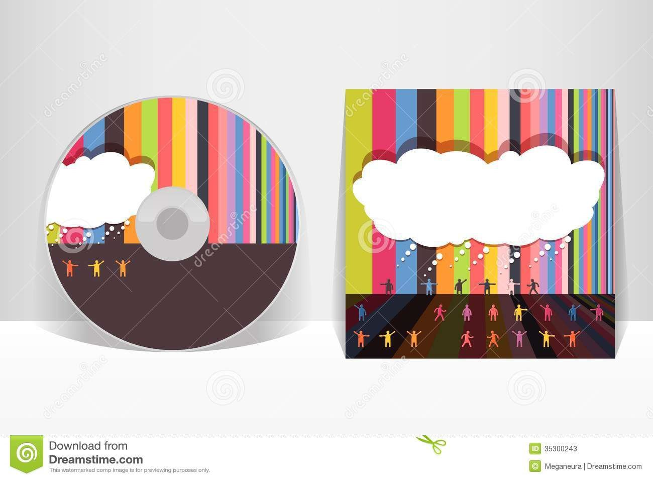 005 Staggering Cd Cover Design Template Example  Free Vector Illustration Word Psd DownloadFull