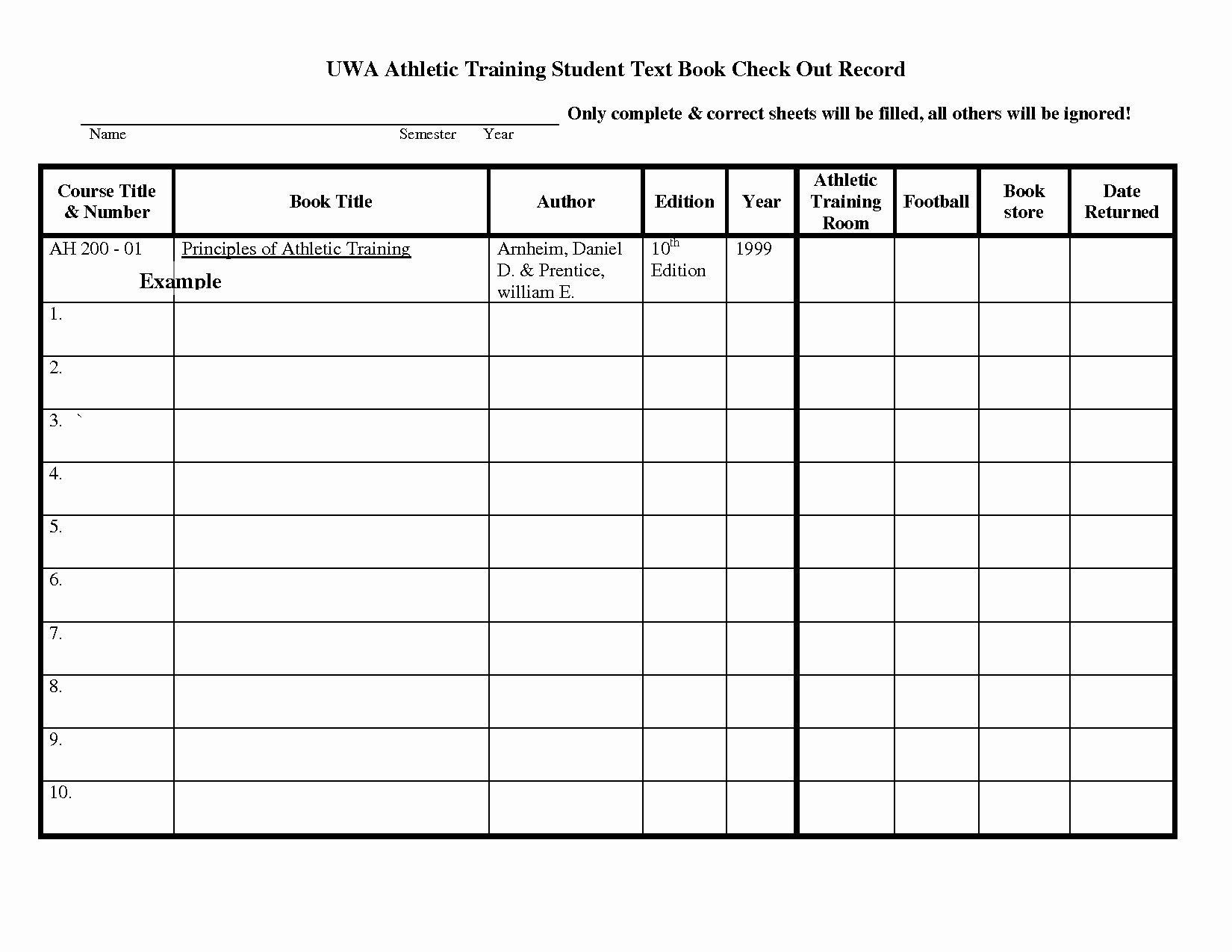 005 Staggering Equipment Sign Out Sheet Template Sample  Pdf Free PrintableFull