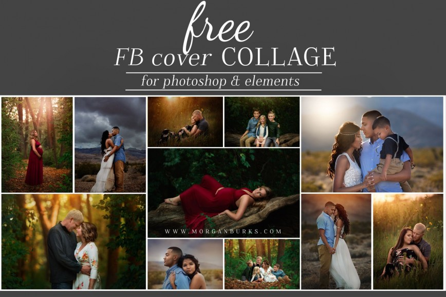 005 Staggering Free Photo Collage Template Psd Highest Quality  Heart Shaped Facebook Cover Photoshop Download