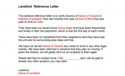 005 Staggering Free Reference Letter Template For Landlord Design  Rental