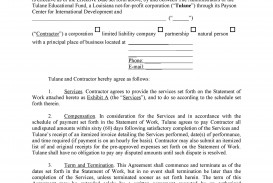 005 Staggering Free Service Contract Template Picture  Cleaning Lawn