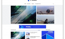 005 Staggering Free Template For Blogger Example  Blog Best Photographer Xml Download