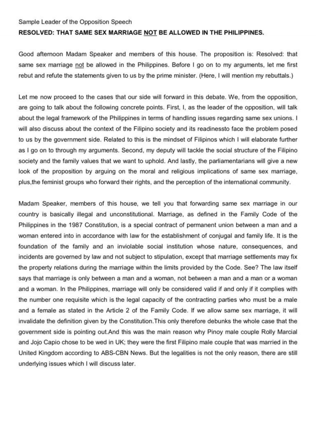 005 Staggering Gay Marriage Essay Photo  Example Clever Title ForLarge