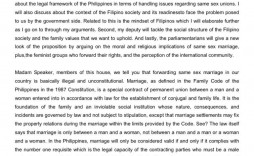 005 Staggering Gay Marriage Essay Photo  Example Clever Title For