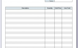 005 Staggering Invoice Template Printable Free Word Doc High Resolution