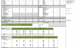 005 Staggering Line Item Budget Template Film Example