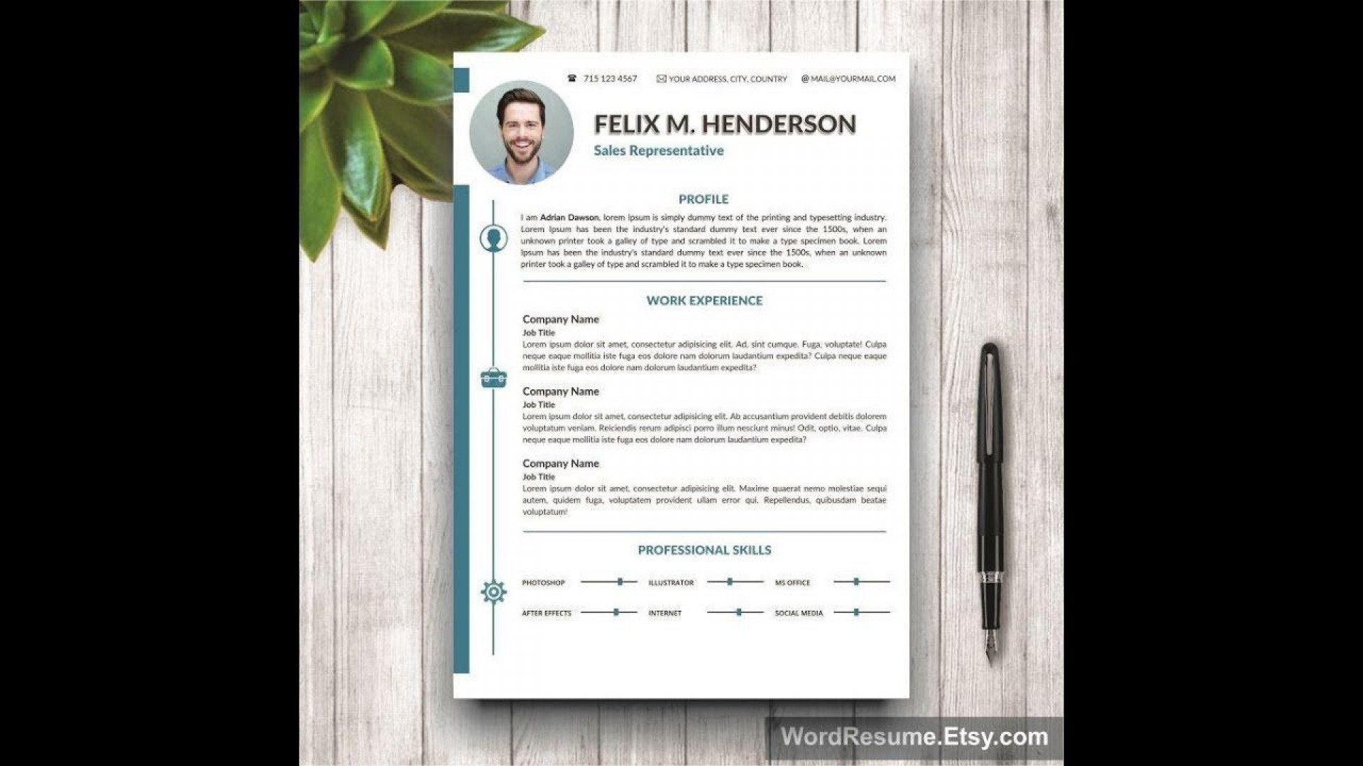 005 Staggering Microsoft Word Portfolio Template Idea  Career Professional Free Download1920