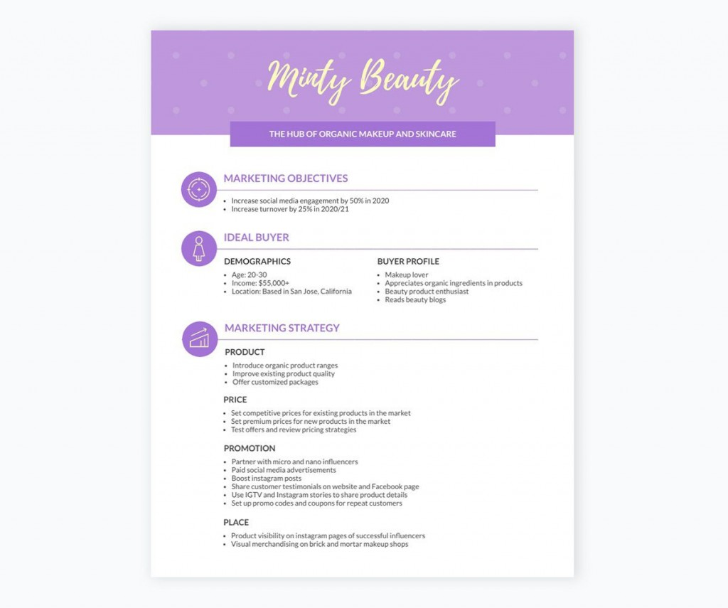 005 Staggering Sale And Marketing Plan Template Free Inspiration  Download HotelLarge