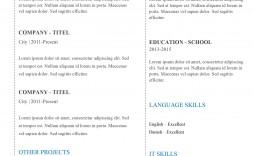 005 Stirring Basic Resume Template Free Highest Clarity  Easy Download Word Australia Doc