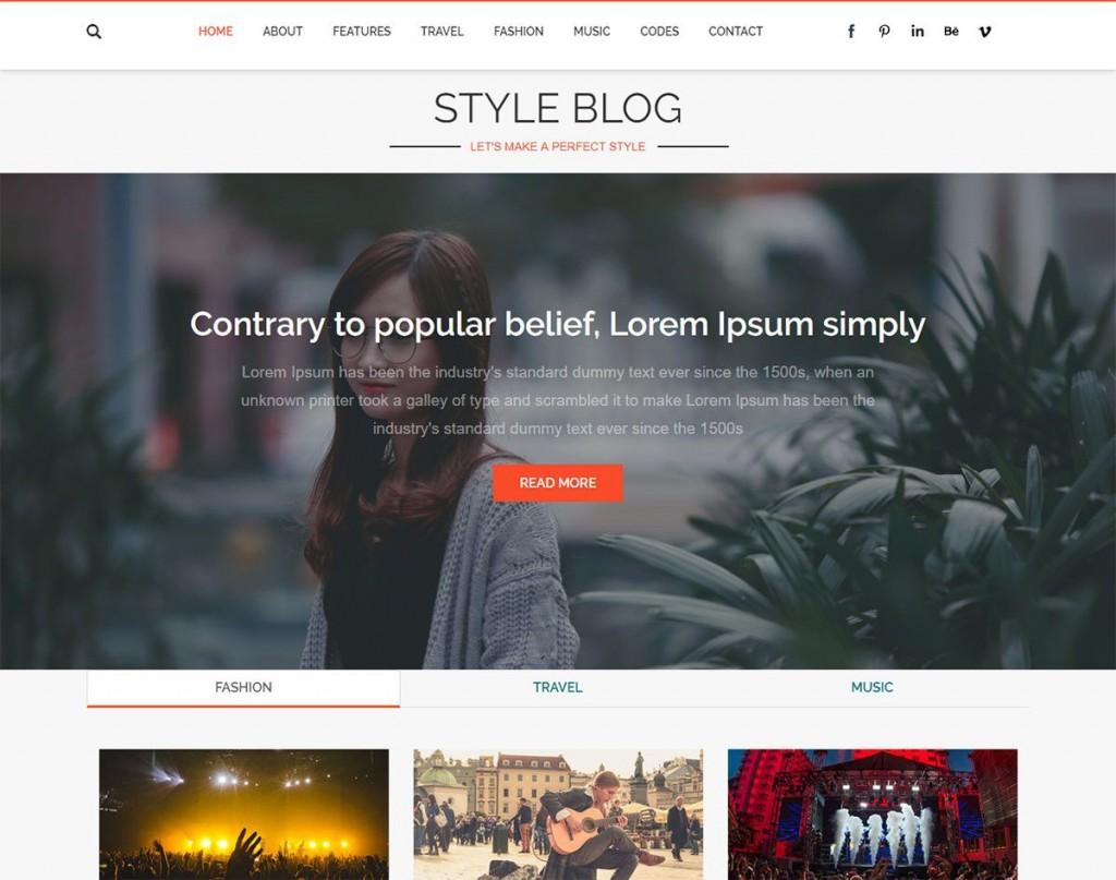 005 Stirring Best Free Responsive Blogging Theme Highest Quality  Blogger Template 2019 Wordpres Blog DownloadLarge