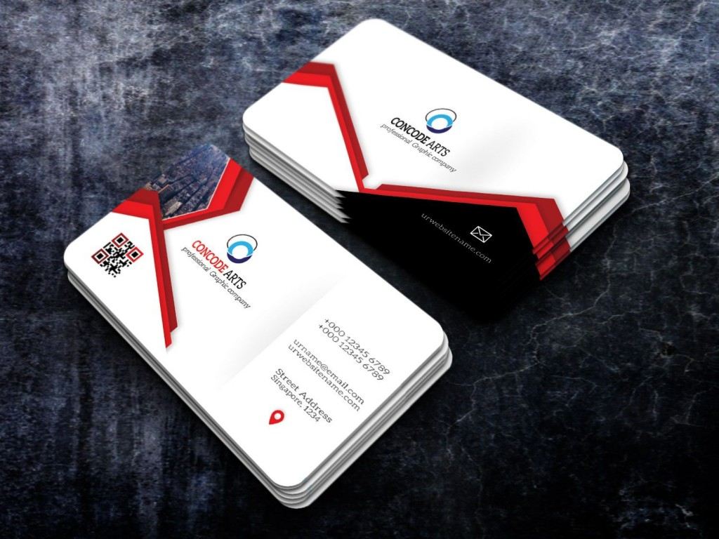 005 Stirring Busines Card Template Free Download Example  Psd File Pdf PptLarge