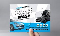 005 Stirring Car Wash Flyer Template Design  Free Fundraiser Download