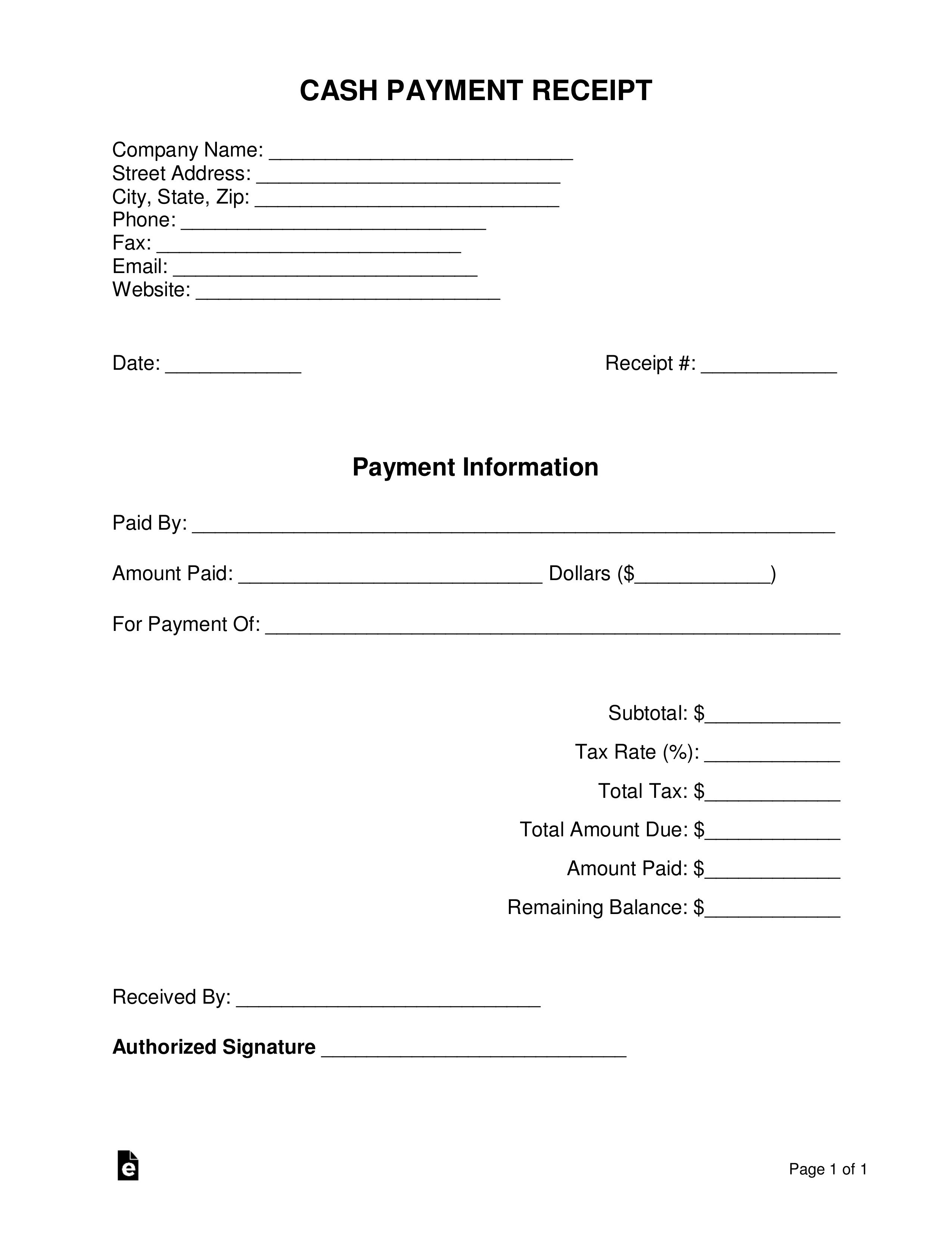 005 Stirring Cash Receipt Template Word Highest Clarity  Money Sample Format Download PaymentFull