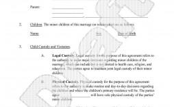 005 Stirring Child Custody Agreement Template High Resolution  Templates Pennsylvania Uk Free
