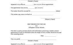 005 Stirring Doctor Note For School Template Example  Fake