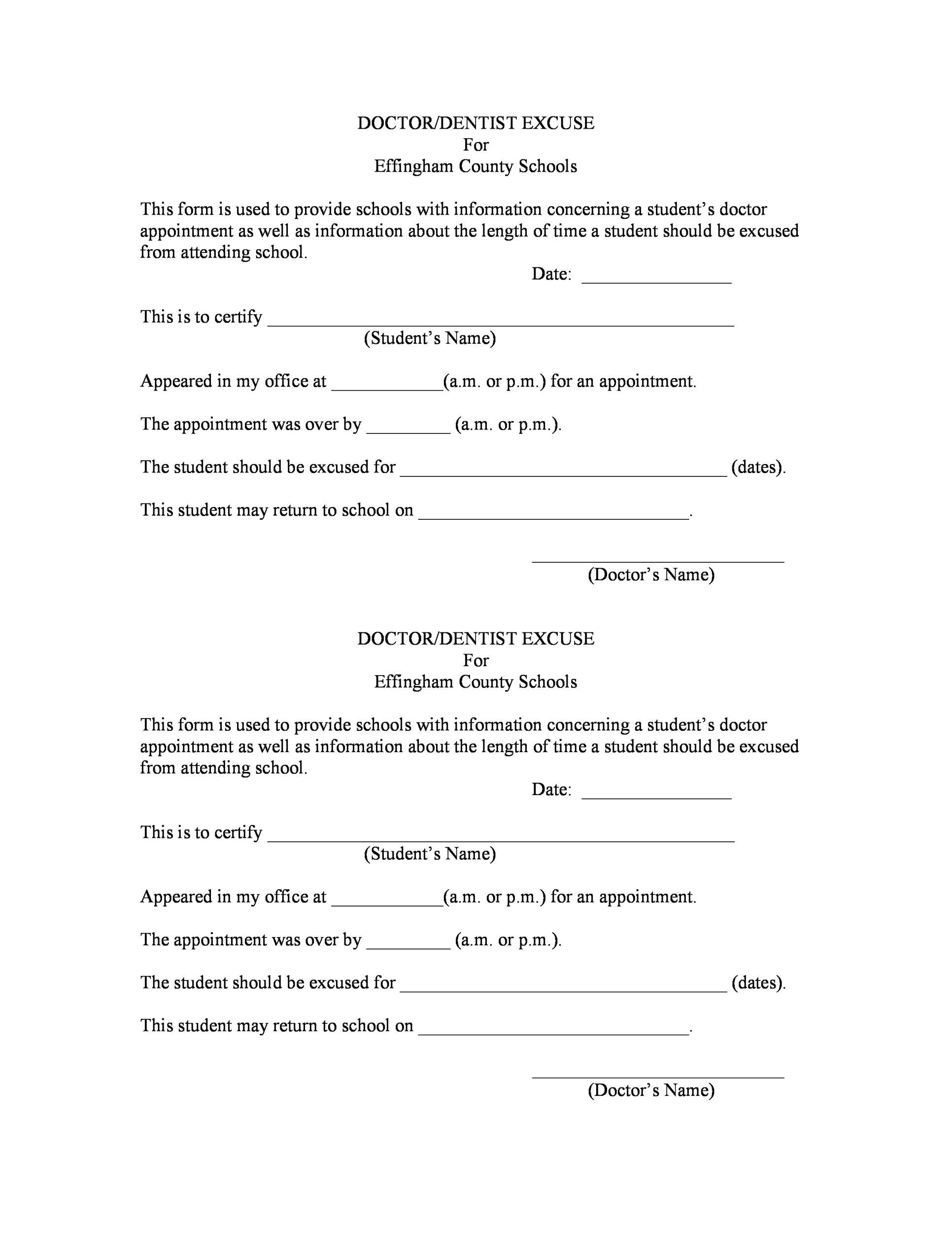 005 Stirring Doctor Note For School Template Example  FakeFull