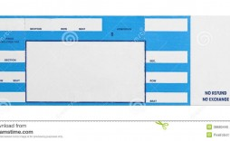 005 Stirring Free Concert Ticket Maker Template Photo  Printable Gift