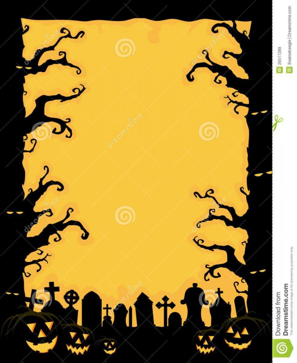 005 Stirring Free Halloween Invitation Template Idea  Templates Online Printable Birthday Party WeddingLarge