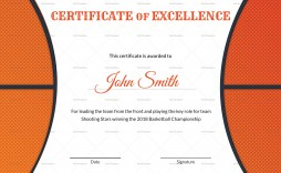 005 Stirring Free Printable Basketball Certificate Template High Resolution  Templates