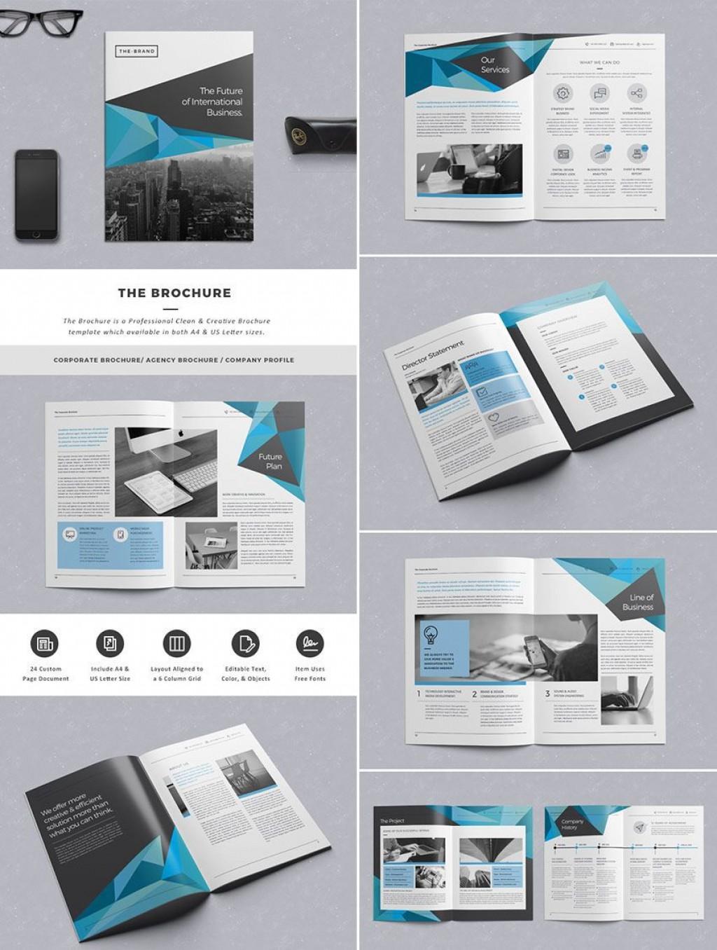 005 Stirring Indesign Brochure Template Free High Def  Adobe Download Bi Fold BusinesLarge