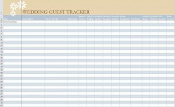 005 Stirring Party Guest List Template Excel Free High Definition
