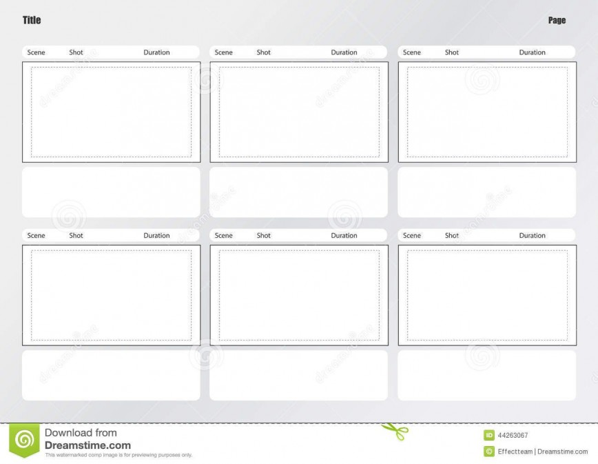 Professional Film Storyboard Template from www.addictionary.org