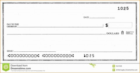 005 Stirring Quickbook Check Template Word Idea 480