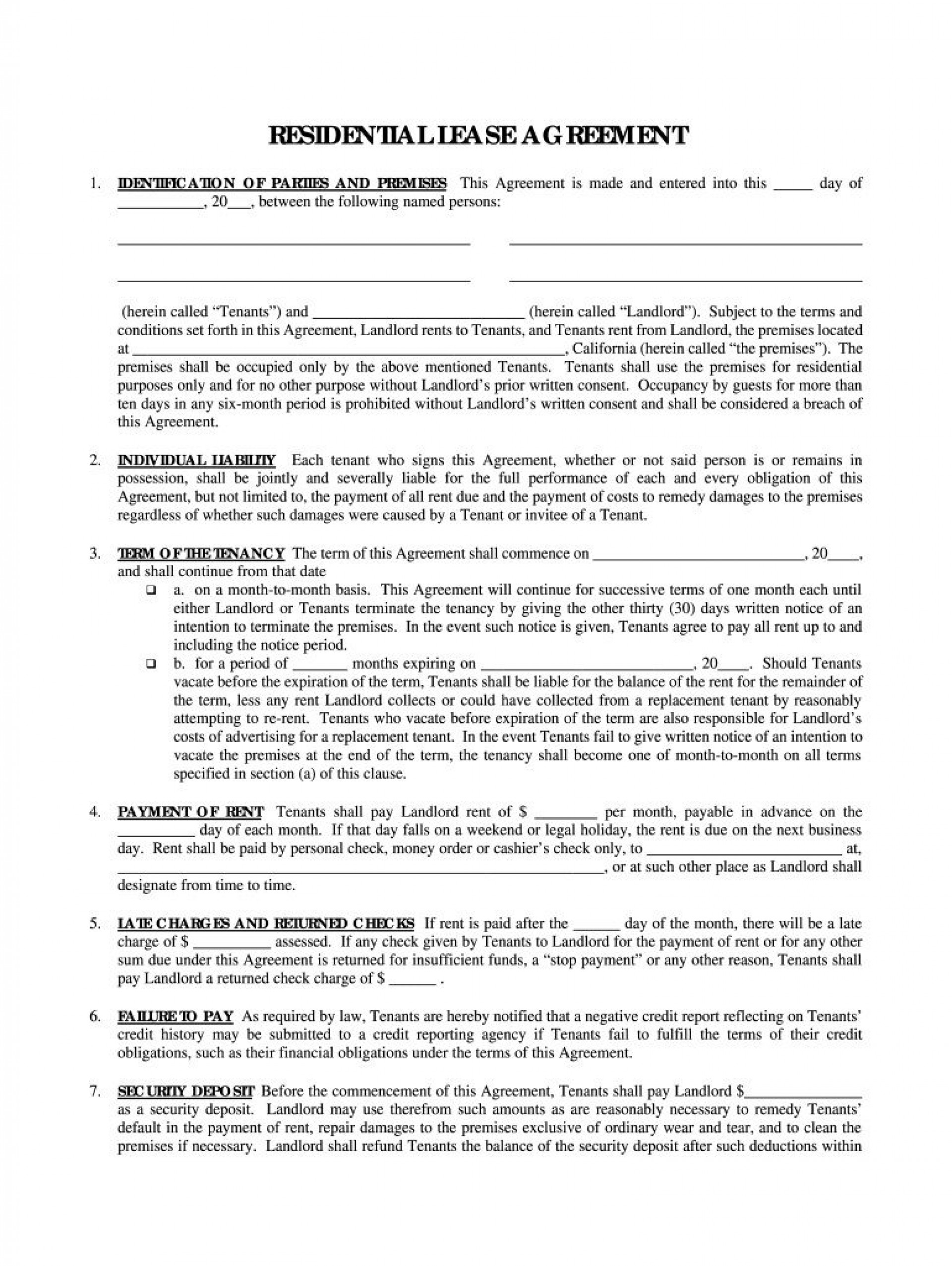 005 Stirring Rental Agreement Template Pdf Picture  Tenancy Uk Rent Contract Form1920