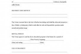 005 Stirring Rental Agreement Template Free Image  Tenancy Form Download Word
