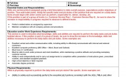 005 Stirring Role And Responsibilitie Template Doc Highest Quality  Google