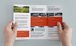 005 Stirring Template For Trifold Brochure Sample  Tri Fold Indesign A4 Free In Word Download