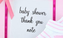 005 Stirring Thank You Note Template For Baby Shower Gift High Resolution  Card Letter Sample