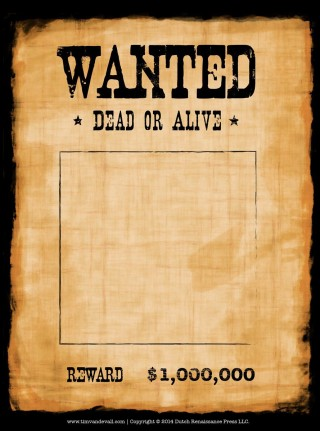 005 Stirring Wanted Poster Template Microsoft Word High Definition  Western Most320