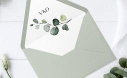 005 Striking A7 Square Flap Envelope Liner Template Photo