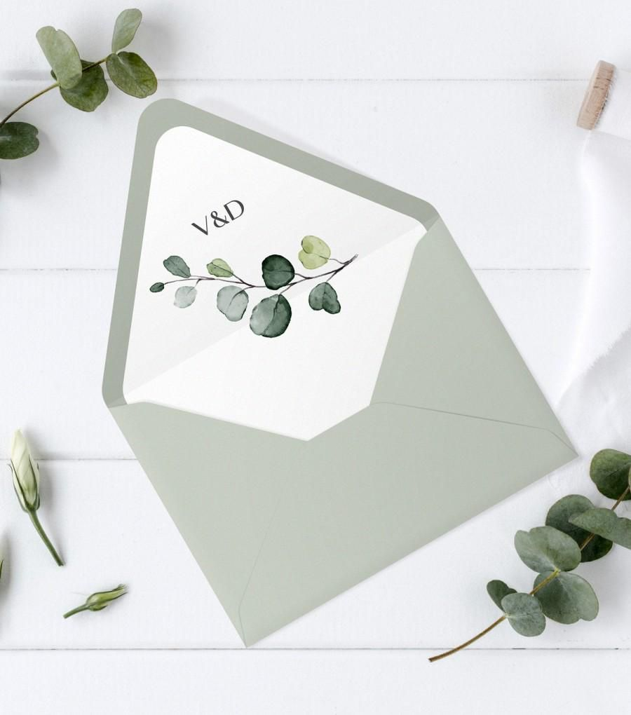 005 Striking A7 Square Flap Envelope Liner Template Photo Full