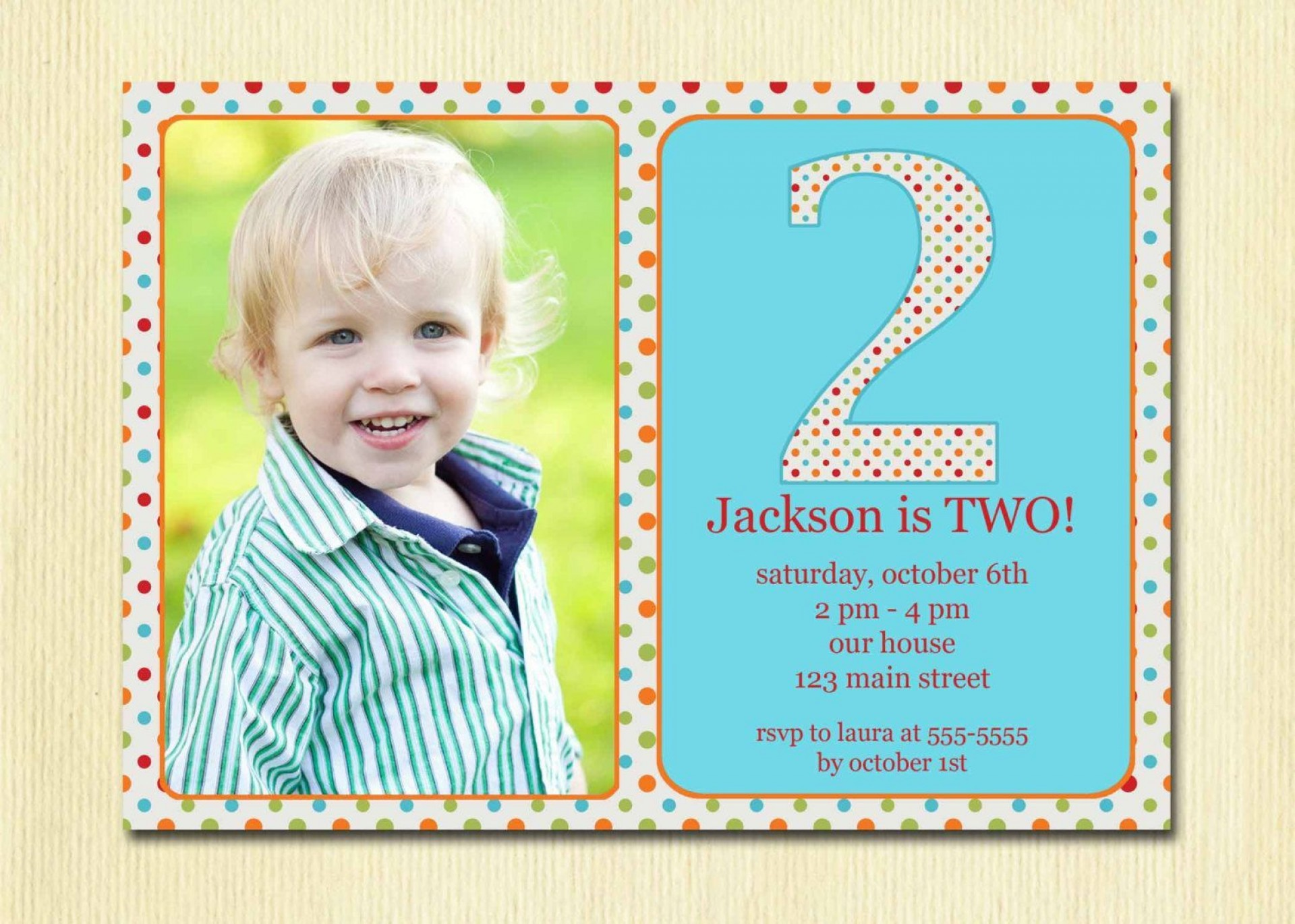 005 Striking Birthday Invitation Wording Sample 5 Year Old Concept 1920
