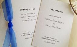 005 Striking Church Wedding Order Of Service Template Uk Highest Quality