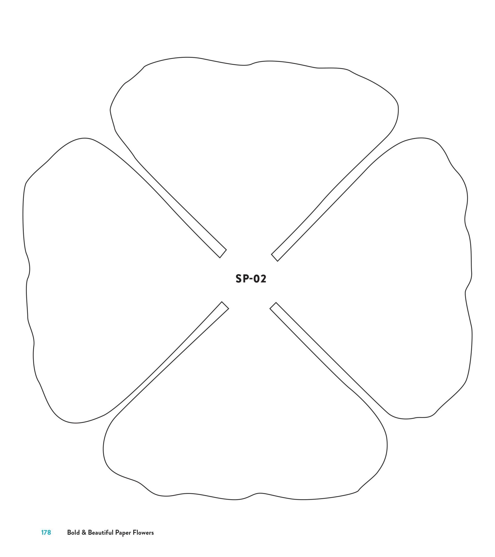 005 Striking Downloadable Free Printable Paper Flower Template Sample  Templates1920