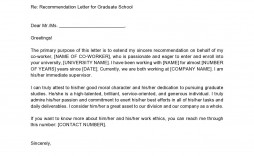005 Striking Example Of Letter Recommendation For Graduate School From Employer High Def  Sample Pdf Grad