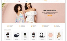 005 Striking Free E Commerce Website Template High Def  Ecommerce Html Cs Bootstrap Php