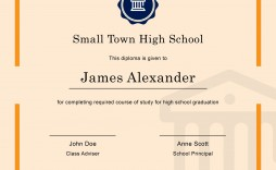 005 Striking Free Printable High School Diploma Online Def