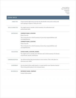 005 Striking Free Printable Resume Template Australia Photo 320