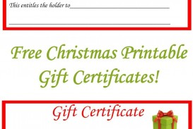 005 Striking Free Printable Template For Gift Certificate Example  Voucher