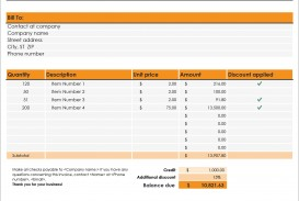 005 Striking Invoice Excel Example Download Highest Clarity